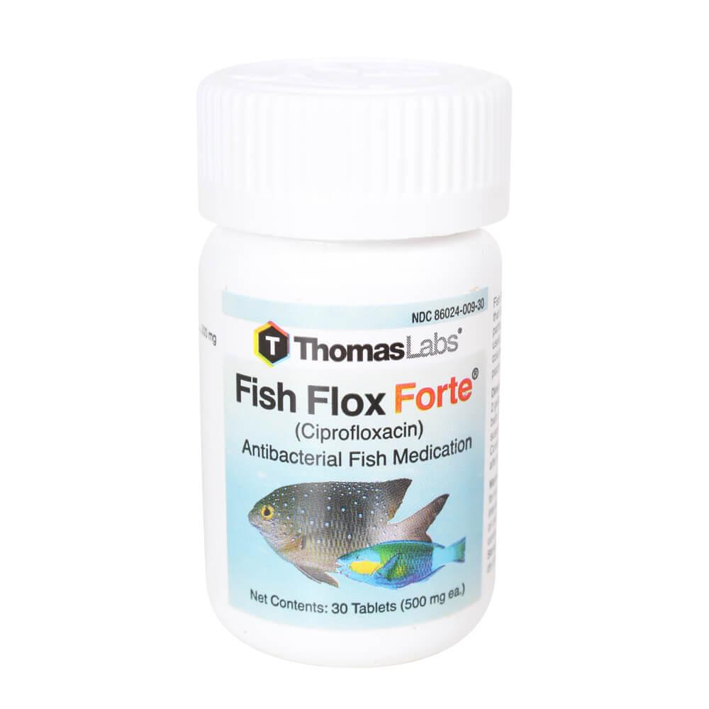 Fish Flox Forte (Ciprofloxacin), 500mg X 30 Tablets
