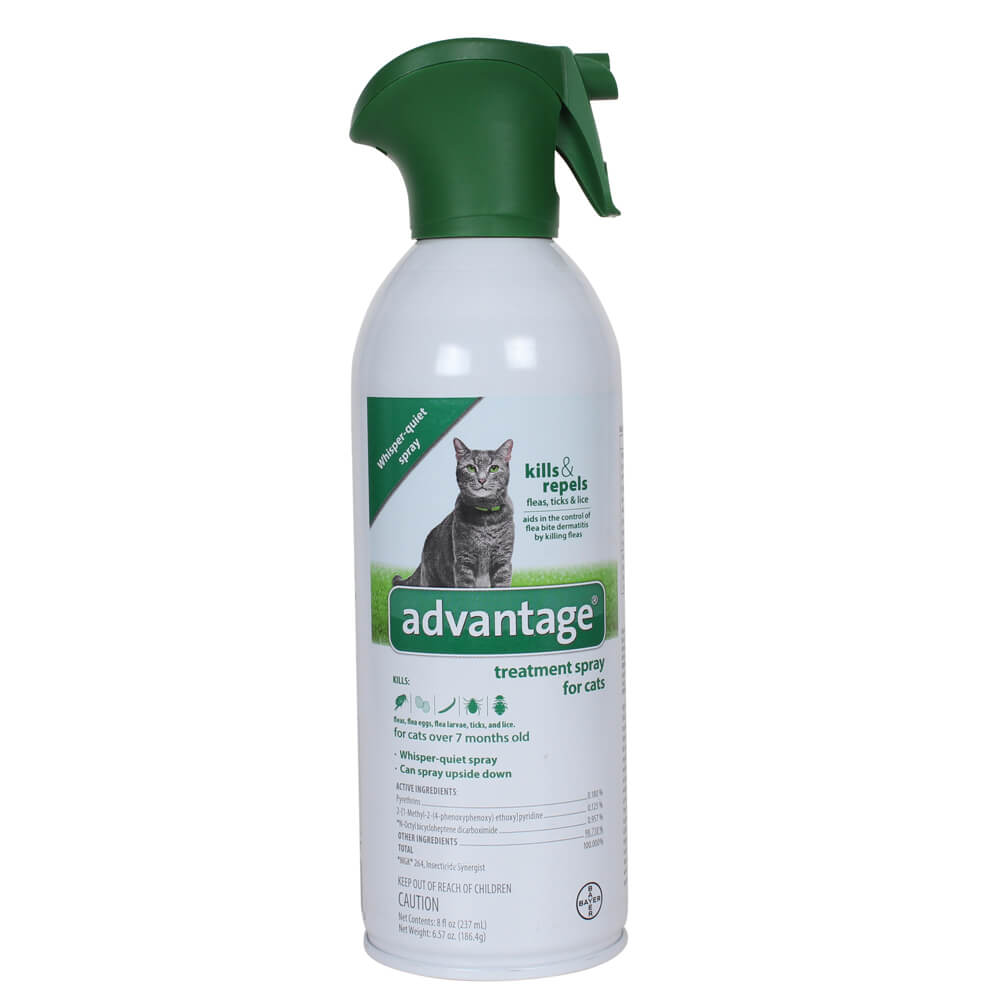 Advantage For Cats Fleas Spray