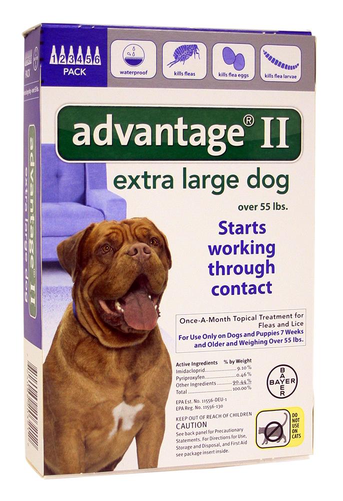 Advantage Ii Extra Large Dog Dosage