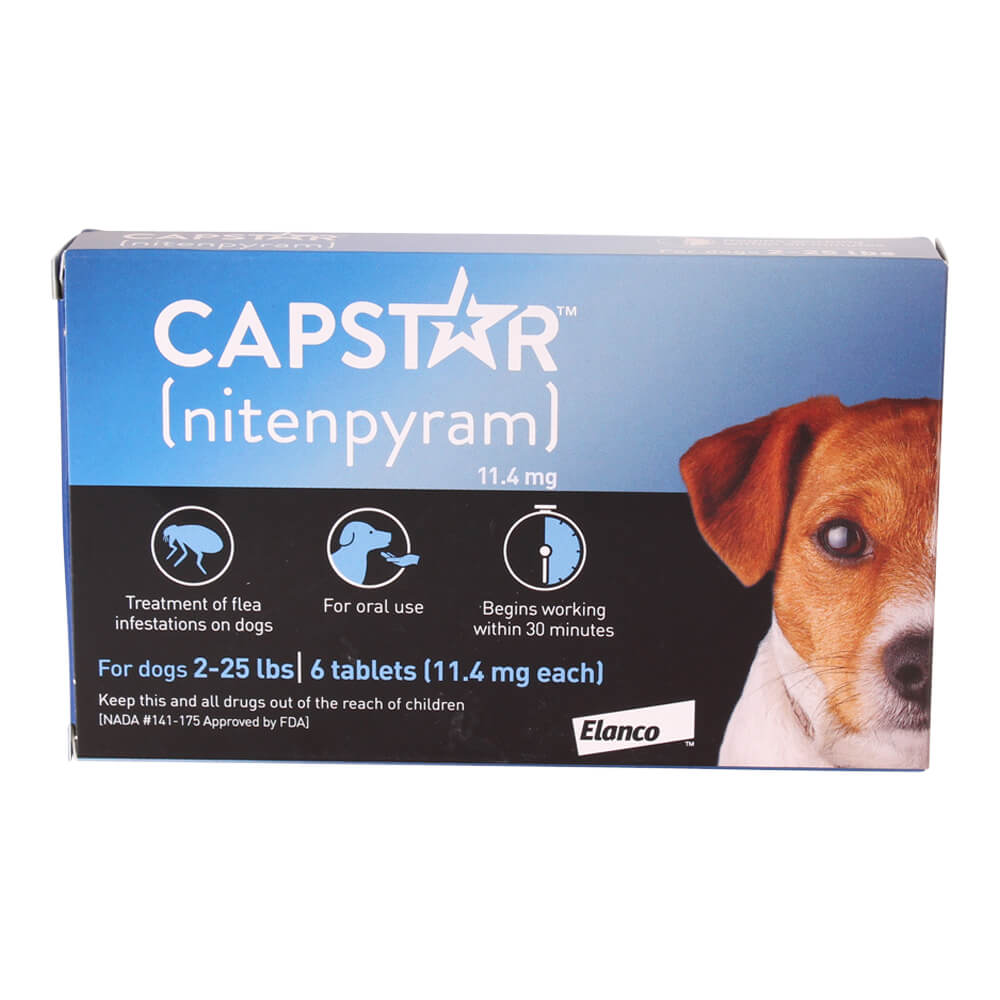 Capstar for Cats and Dogs, 6 Pill Card