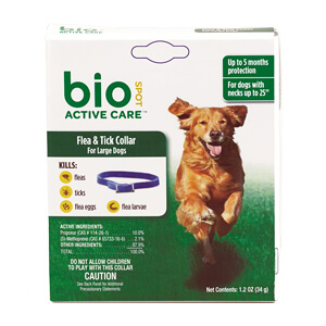 BioSpot Active Care Flea & Tick Collar