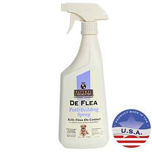 Natural Chemistry De Flea Pet & Bedding Spray, 24 fl oz