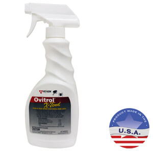 Ovitrol X-Tend Flea & Tick Spray for Dogs and Cats