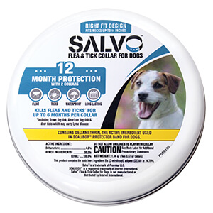 Salvo Flea & Tick Collar for Dogs