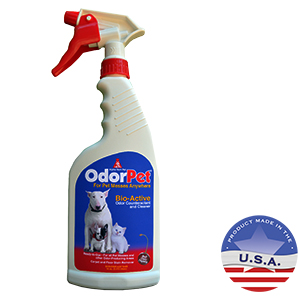 OdorPet Carpet and Floor Stain Remover with Sprayer