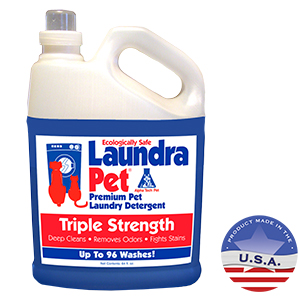 LaundraPet Premium Pet Laundry Detergent Triple Strength