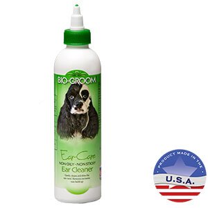 Bio-Groom Ear-Care Non-oily Non-sticky Ear Cleaner, Dogs & Cats, 8 oz