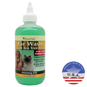 Ear Wash with Tea Tree Oil