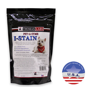 Pet-A-Zyme I-Stain, 16 Ounce Powder