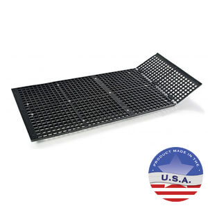 Groomer's Best Floor Tub Grates - Hinged