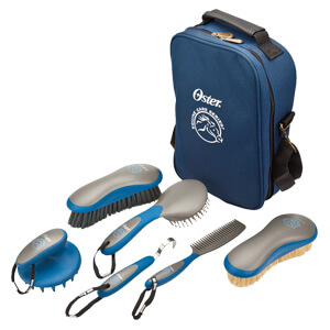 Oster Equine 7-Piece Grooming Kit - Blue