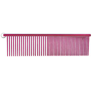 "Resco Combination Comb, Candy Raspberry, 1.5"" pins"