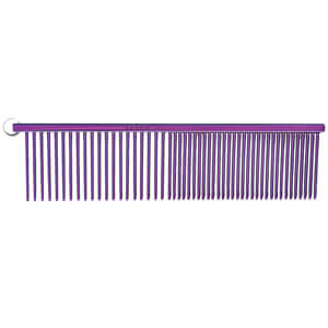 "Resco Combination Comb, Candy Purple, 1.5"" pins"