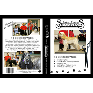 Super Styling Sessions, Cocker Spaniel DVD