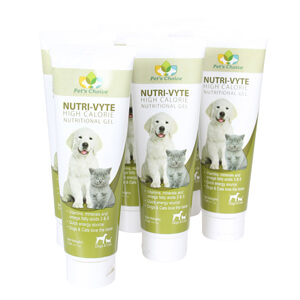 Nutri-Vyte High Calorie Nutrition Gel for Dogs & Cats, 5 oz, 6 pk