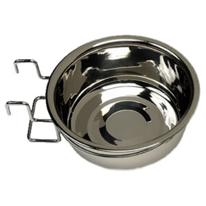 Stainless Steel Coop Cups with Wire Holder, 10 oz