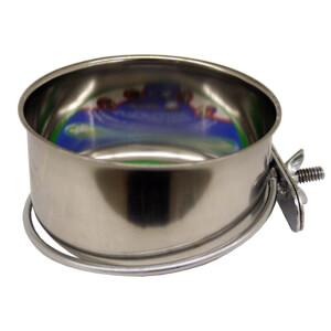 Bowl, SS Coop Cup, w/ Screw-Nut Holder, 10 oz