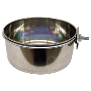 Bowl, SS Coop Cup, w/ Screw-Nut Holder, 20 oz