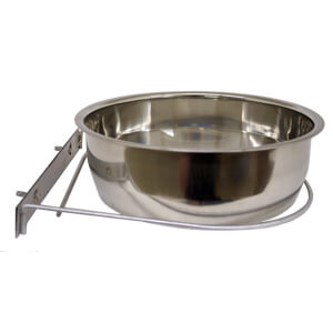 Bowl, SS Coop Cup, w/ Screw-Nut Holder, 96 oz