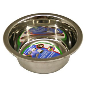 Regular Stainless Steel Bowl, 1 pt