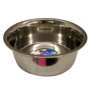 Regular Stainless Steel Bowl, 2 qt