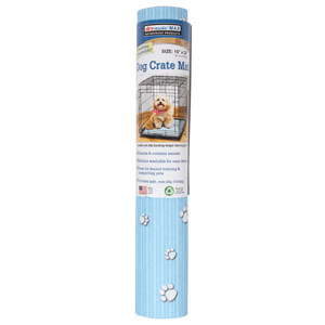 Drymate Dog Crate Mat, Blue