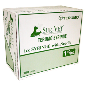 Terumo Syringe with Needle, 1cc 25x5/8 LS