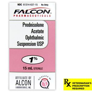 Falcon Pharmaceuticals Prednisolone Acetate Ophthalmic Suspension Usp