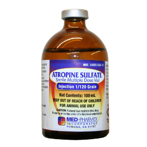 Atropine Sulfate Injectable Solution Rx