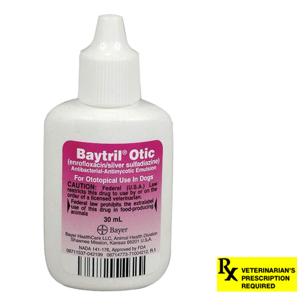Baytril Otic Rx, 30 ml
