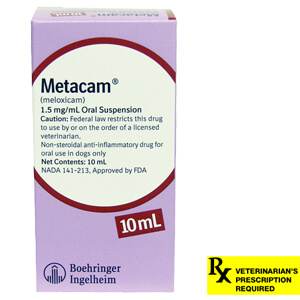Metacam Oral Suspension Rx, 1.5 mg/ml x 10ml