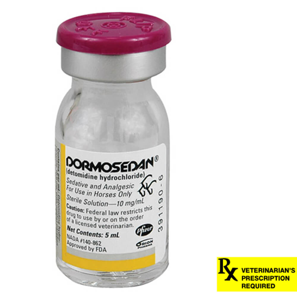 Dormosedan Rx, 10 mg/ml x 5 ml