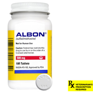 Albon Rx, 500 mg x 100 ct