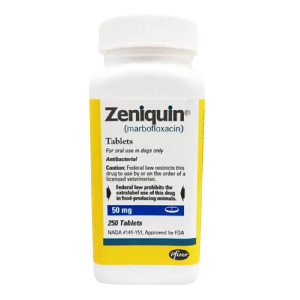 Rx Zeniquin 50mg x 1 Tablet