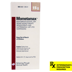 Mometamax Otic Suspension Rx for Dogs