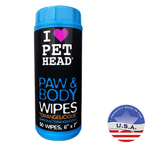 Pet Head Paw and Body Wipes
