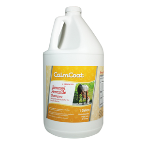 CalmCoat Benzoyl Peroxide Medicated Shampoo Gallon