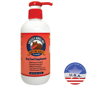 Grizzly Krill Oil 8oz