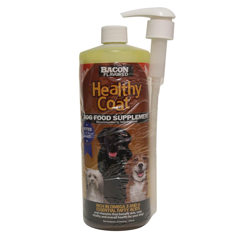 Healthy Coat Dog Food Supplement 32 Oz