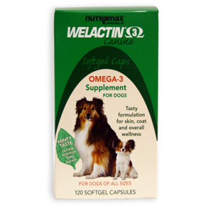 Welactin Canine Softgels, 120 ct, 6 pack