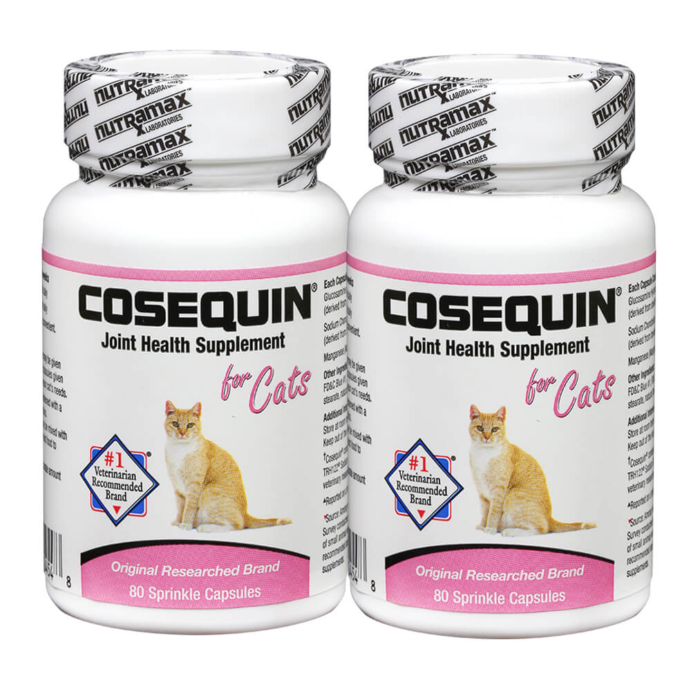 cosequin for cats 80 sprinkle capsules 2 pack. Black Bedroom Furniture Sets. Home Design Ideas