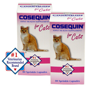 Cosequin for Cats, 80 Sprinkle Capsules, 2 Pack