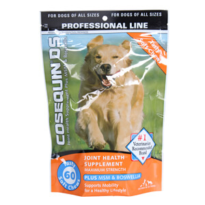 Cosequin DS Plus MSM for Dogs, 60 Soft Chews