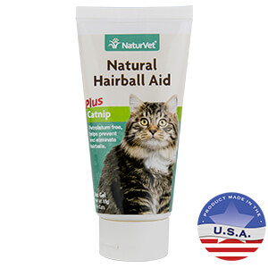 Natural Hairball Aid, Plus Catnip