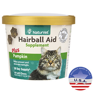 Hairball Aid, Plus Pumpkin