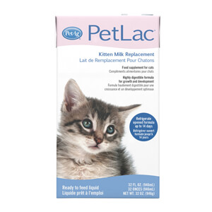 PetLac Kitten Milk Replacement, 32 oz.
