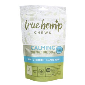 True Hemp Chews Calming Support for Dogs, 7 oz, 40 ct