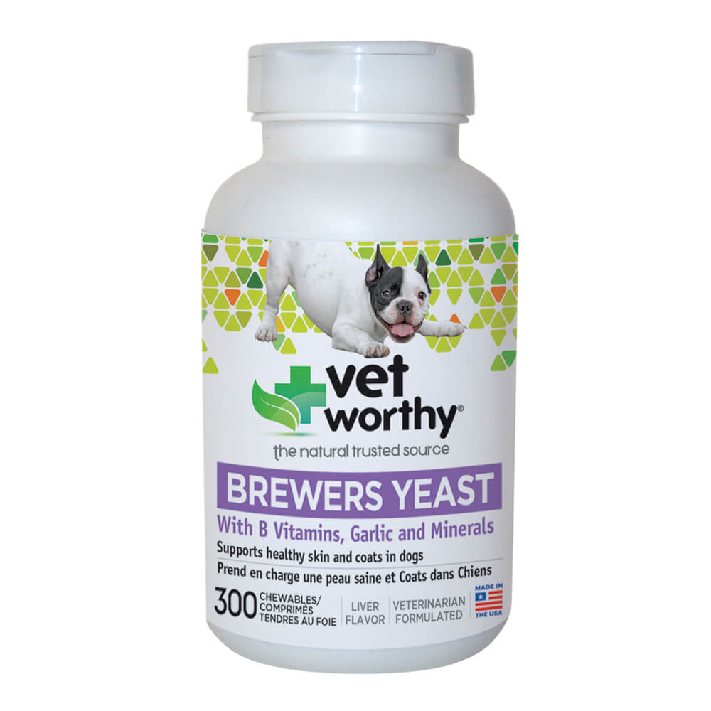 Vet Worthy, Brewer's Yeast Chewable, for Dogs, 300 ct
