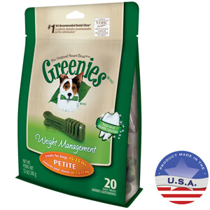 Greenies Weight Management Treat-Pak Petite, 20pk, 12 oz