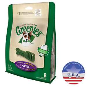 Greenies Dental Chews for Dogs, Large, 12 oz, 8 Treats